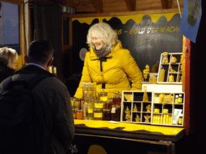 Honigwerkstatt Adventmarkt Biobauern Freyung Dietlinde Kisling