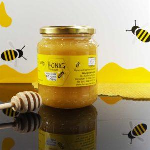 Bio Creme Honig vom Wachauer Marillengarten, 500g
