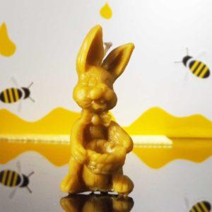Honigwerkstatt_Bienenwachskerze_Osterhase